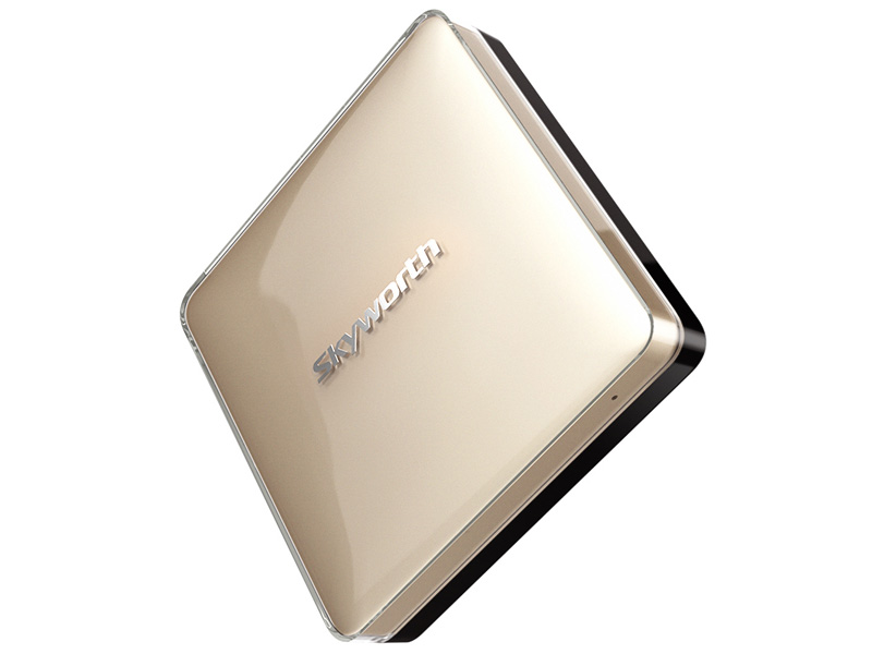 i71S二代网络机顶盒金色
