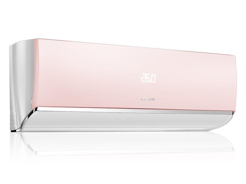 冰淇淋系列大1匹变频智能空调樱桃粉