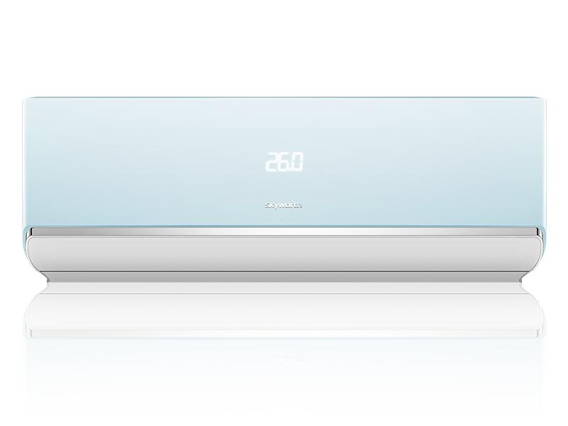 冰淇淋系列大1匹变频智能空调薄荷蓝